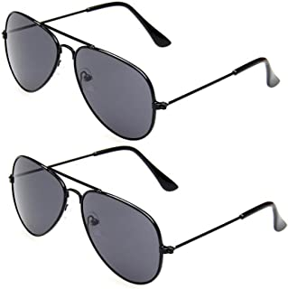 Classic Kids Aviator Sunglasses Bulk Reflective Metal...
