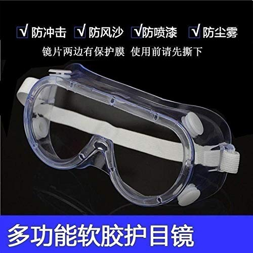 bril, voorruit, lasrooster, voorruit, zonnebril, zandbescherming, stofbescherming, beslagbescherming, transparant, Soft Four-bead