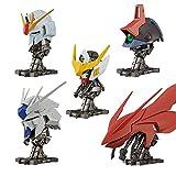Bandai Shokugan Mobile Suit Gundam Machine Head Figura de acción