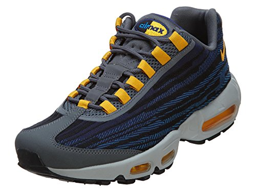Nike Miler - Chaussures de sport pour homme - Bleu - Bleu/Gris, 46 EU EU