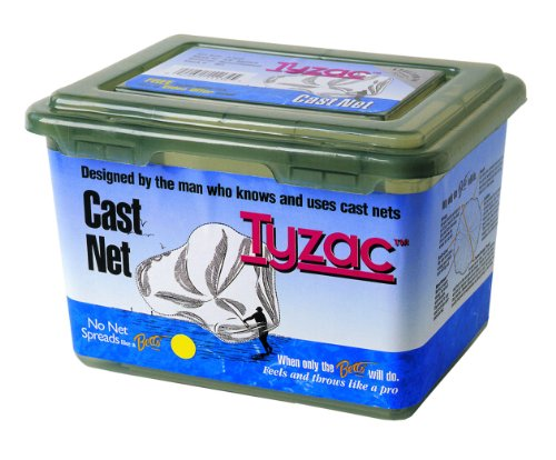 "Betts Tyzac Cast Net 8ft Mono 3/8"" Mesh Box"
