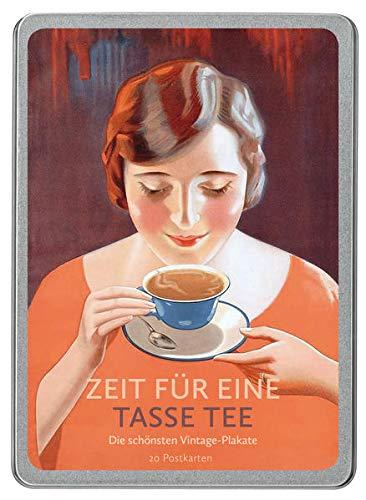 Zeit für eine Tasse Tee: Die schönsten Vintage-Plakate