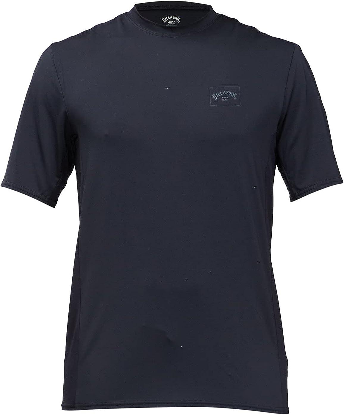 Billabong Men's Standard Arch Mesh Loose Fit Short Sleeve Rashgaurd