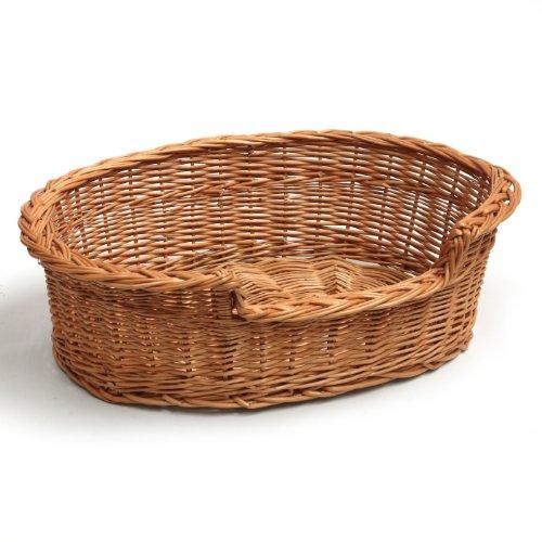 Prestige Wicker Pet Bed Basket, 55 cm