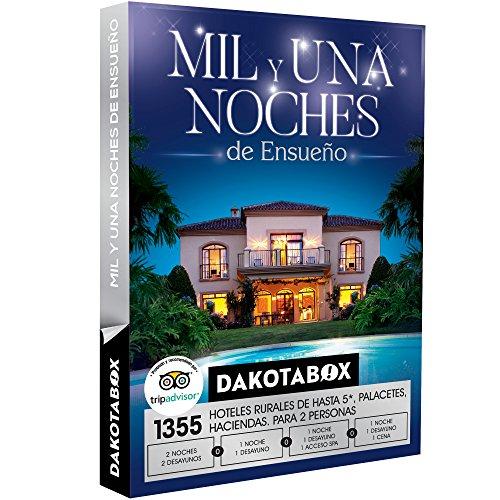 DAKOTABOX - Caja Regalo-MIL Y UNA NOCHES  ENSUEÑO - 1355 hoteles rurales de hasta 5*, palacetes o masías en España, Bélgica, Francia, Italia y Portugal