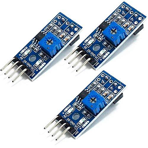 AZDelivery 3 x TRCT5000 IR Infrarot Linien Folger Hindernis Vermeidung Modul für Arduino