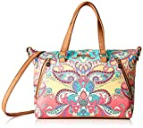 Desigual Bag Grand Valkiria Piadena Women, Sacs menotte femme, Orange (Coral),...