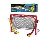 Porta Hockey, Porta da Hockey, Porta per Hockey, con Due bastoni Colorati e Due Palline, F...