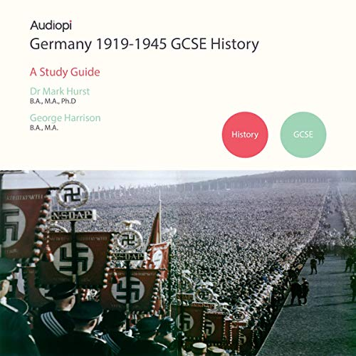Germany 1919-1945 History GCSE Study Guide cover art
