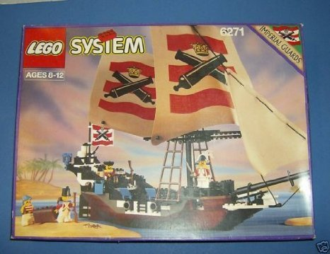 Lego System Imperial Flagship Pirates of the Sea 6271 by LEGO