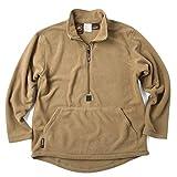 実物 新品 米軍 USMC プルオーバー フリースライナー COYOTE BROWN 表記L(日本サイズXL相当) 実物 ミリタリー 軍放出品 ジャケット メンズ