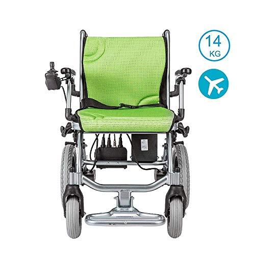 Inklapbaar met krachtige lithiumbatterij. Gemakkelijk te transporteren gemotoriseerde rolstoel met 360 graden joystick-bediening. Met vliegreizen compatibele elektrische rolstoelen.