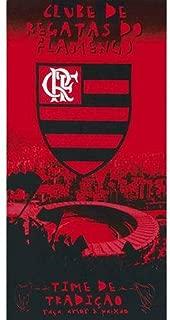 Authentic Flamengo Soccer Team Beach Towel - Type I   Toalha de Praia Oficial do Flamengo Modelo 01