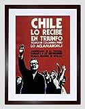 CHILE POLITICAL SALVADOR ALLENDE VICTORY SUCCESS FRAMED ART
