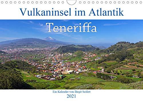 Vulkaninsel im Atlantik, Teneriffa (Wandkalender 2021 DIN A4 quer)