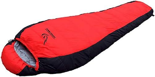 ArougeOVL Sac de Compression avec Sac de Couchage Confortable pour Adulte (Couleur   rouge)