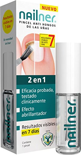 Reva-Health Nailner 2-in-1-Pinsel gegen Fußpilz, 5ml 5ml.