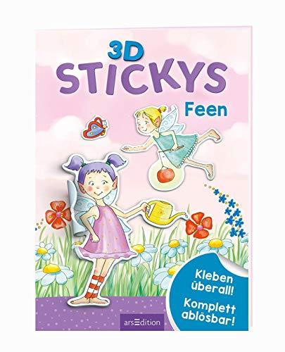 3D-Stickys Feen: Kleben überall! - Komplett ablösbar!