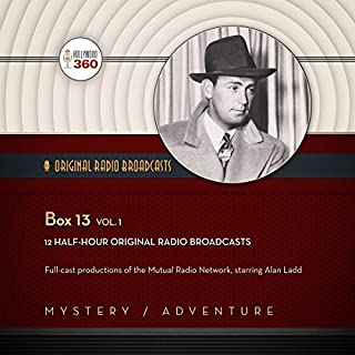Box 13, Vol. 1 audiobook cover art