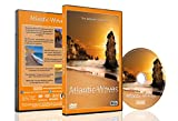 Beach DVD - Atlantic Waves - Aerial Ocean Scenery, Calming Meditative Beach Scenery with Music and Sea Sounds