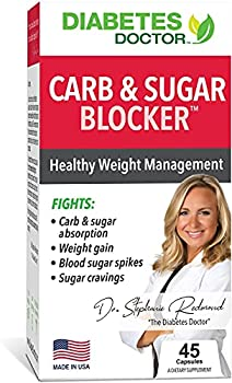 Diabetes Doctor Mealtime Carb & Sugar-Blocker - Reduce Blood Sugar Spikes and Carbohydrate Absorption -Stable Blood Glucose Levels for Type 2 Diabetes Support and Weight Support