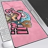One Piece Luffy Roronoa Zoro Gaming Alfombrilla de ratón Grande Alfombrilla de ratón Juego Teclado Mat Cafe Mat Mousepad extendido Mousepad para computadora PC-B_300x700x3MM