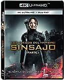 Los Juegos Del Hambre: Sinsajo Parte 1 Blu-Ray + Uhd 4k [Blu-ray]