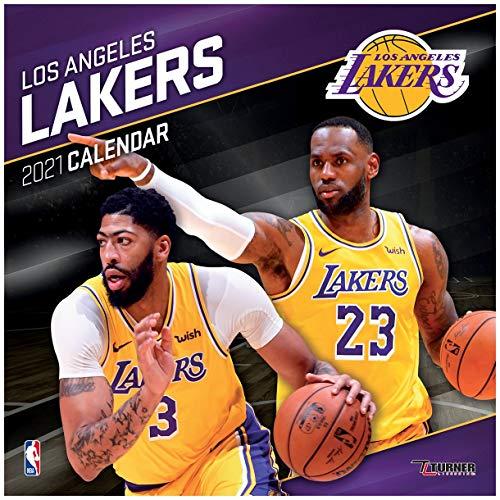 Los Angeles Lakers 2021 Calendar