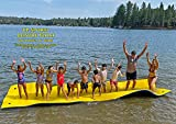 Leisure Float 20 Foot Foam Water Mat - Super Buoyant - Triple Layered - Mesh Reinforced