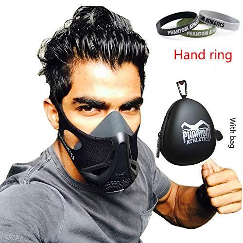 Sauerstoffblockierungsmaske Übung Selbstmissbrauch Niedrige anaerobe Maske Laufen Fitness Simulation Plateau Fitnesstraining Vitalkapazität Maske