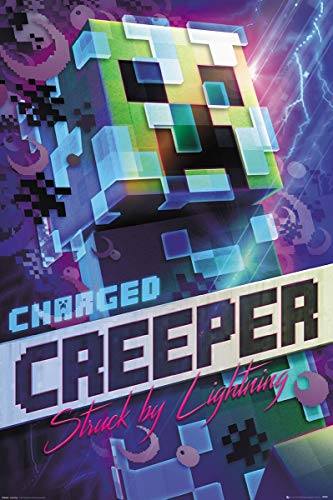 GB Eye FP4744 póster Minecraft Charged Creeper
