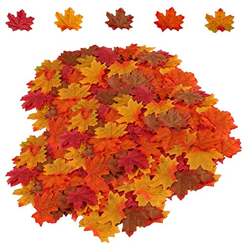 Top fake leaves for decoration fall for 2020