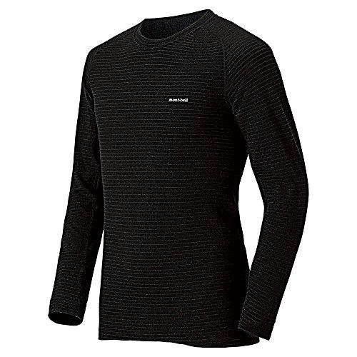 [モンベル] アウトドア インナーシャツ 1107581 ブラック 日本 M-(日本サイズM相当)