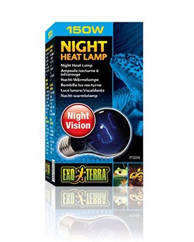 EXO-TERRA Night Heat Lamp, 150 Watt