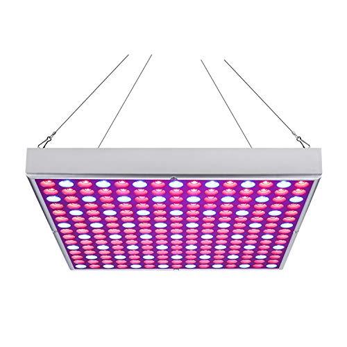 Hengda 45W LED Pflanzenlampe, Pflanzenlicht mit Rot Blau Licht, Vollspektrum Pflanzenleuchte, Grow Lamp für Zimmerpflanzen Gemüse und Blumen im Gewächshaus, Wachstumslampe LED