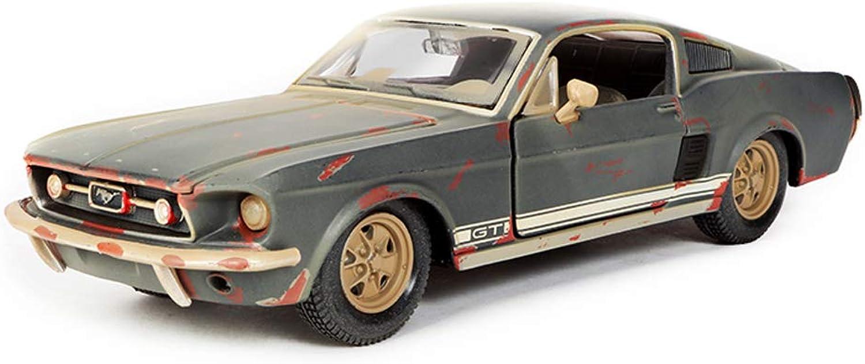 Sin impuestos CCJW Modelo de Coche Coche Coche 1 24 Ratio Ford Mustang Simulación Aleación de fundición a presión Modelo de Coche, 19x6.8x5cm  garantía de crédito