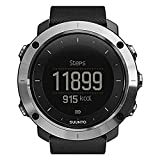 Suunto Traverse - Sport Watches (Stainless Steel, 128 x 128 Pixels, Black, Stainless Steel, Silicone)
