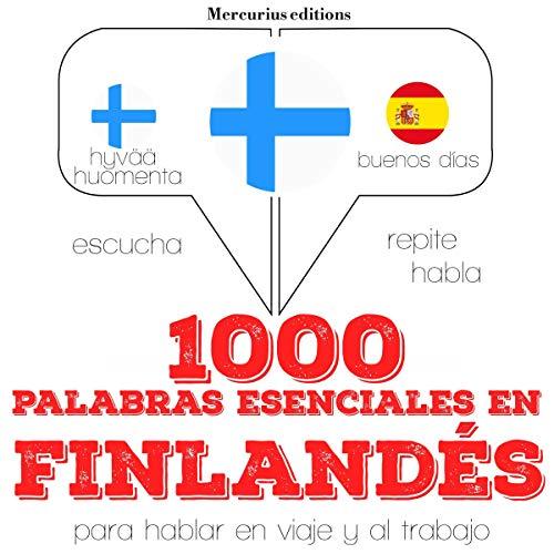 1000 palabras esenciales en finlandés audiobook cover art