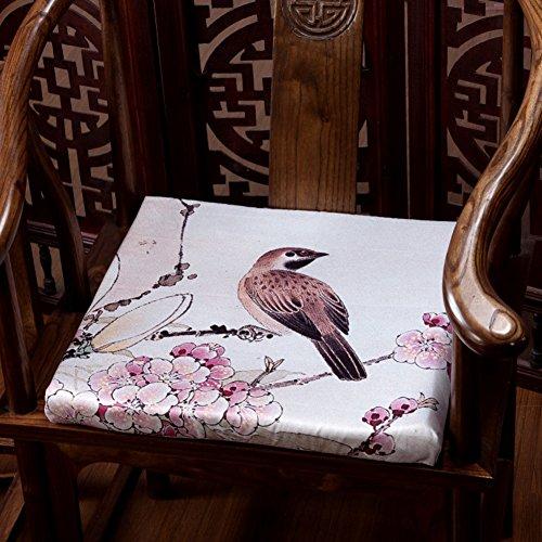 Chaise Pad/coussin de canapé/chaise de salle à manger Coussin/canapé en bois massif Assise Mat-a 45 x 45 cm (45,7 x 45,7 cm)