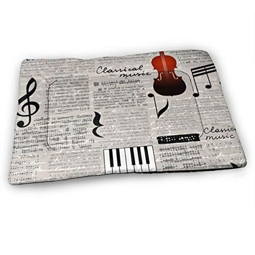 XUJT11O klassieke muziek viool huisdier hond bed mat zachte antislip kennel pad verkrijgbaar in meerdere stijlen maten