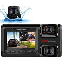 Pruveeo D40 Three and Dual Channel Dash Cam