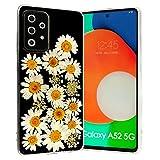 F&X Hülle für Samsung Galaxy A52 5G/4G- Echte Getrocknete