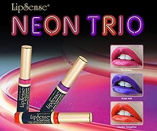 LipSense Liquid Lip Color NEON TRIO VIOLET VOLT, ELECTRIC TANGERINE, RAZZBERRY 0.25 fl oz / 7.4 ml DISCONTINUED COLOR