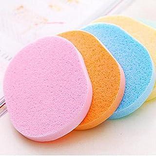 BeautyQua Set Of 4 Pcs Face Cleansing Sponge Puff Makeup Washing Pad Deep Cleansing & Facial Sponge