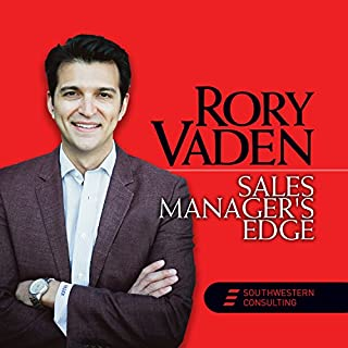 Sales Manager's Edge audiobook cover art