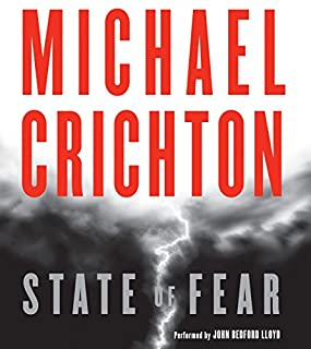 State of Fear audiobook cover art