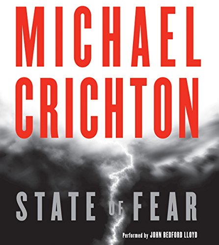 State of Fear                   By:                                                                                                                                 Michael Crichton                               Narrated by:                                                                                                                                 George Wilson                      Length: 18 hrs and 18 mins     170 ratings     Overall 3.7