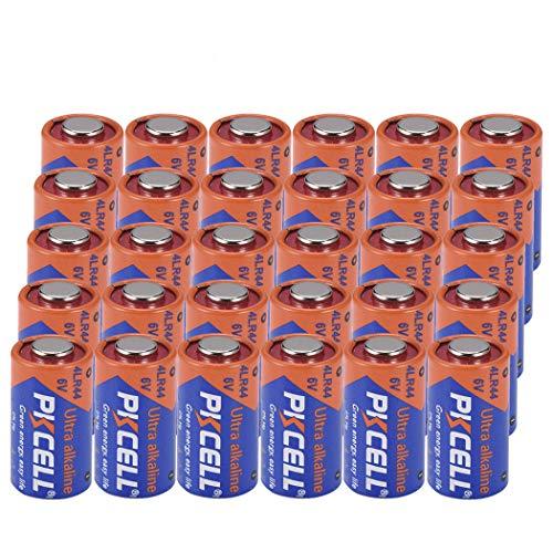 4LR44 GP476A 4A76 PX28A L1325 6V Battery Alkaline for Dog Collar (30pc)