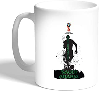 Decalac Saudi Arabia Mug for World Cup 2018 (Ceramic)