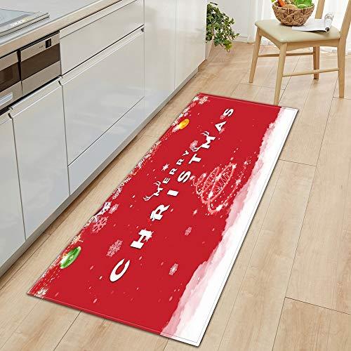 HLXX Cocina Alfombras de piso, Alfombras de baño, Dormitorio Alfombras, Balcón Antideslizante Piso Alfombras A15 60x180cm